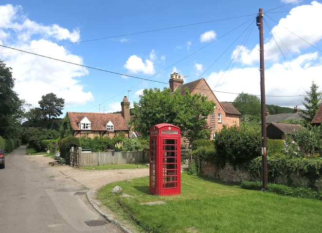 in a tiny Chilterns village