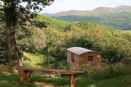 Shepherds Hut View
