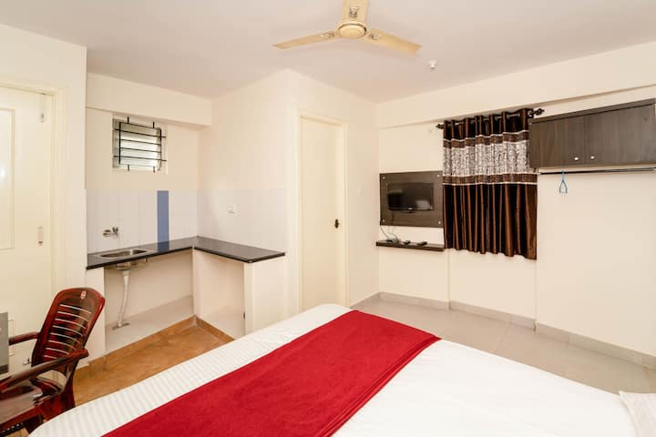 Single Studio Rooms-Amenities-Balcony-Bangalore