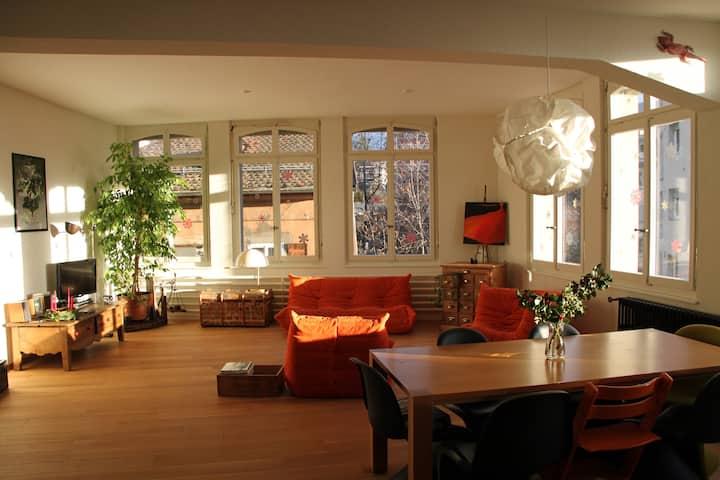 Magnifique loft de 200 m2