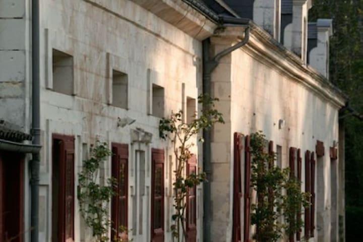 Heerlijk vakantiehuis (La Remise) bij kasteel - Céré-la-Ronde - Blockhütte