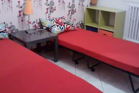 Chambre privée avec 2 lits simples - Pezens