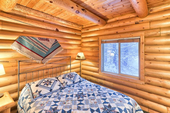 Enjoy peaceful forest views through each of the bedroom windows.