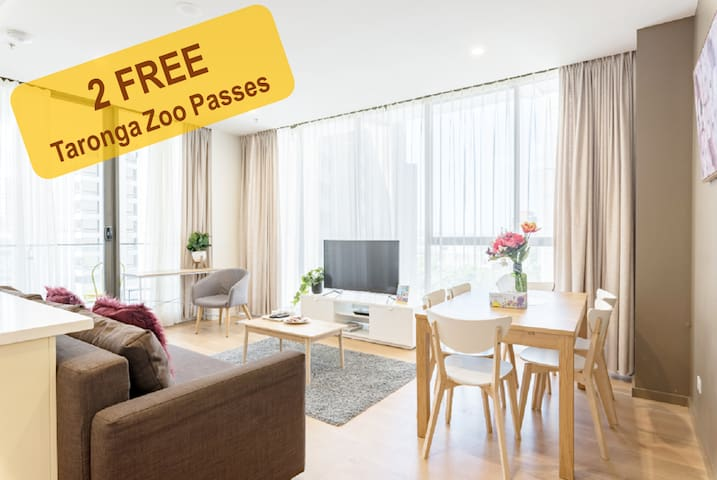Syndey CBD Penthouse 2 bedroom+Free parking