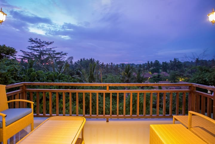 Seken Cottage Ubud at Deluxe Paddies View