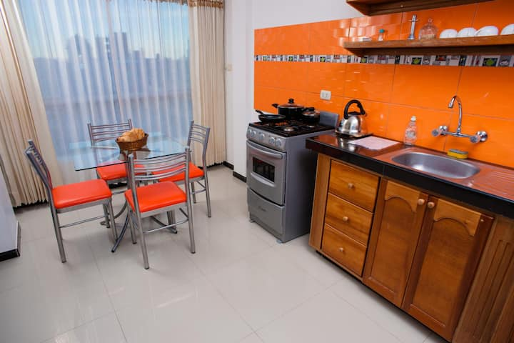 Cozy Mini Apartment in The Heart of Puno, Wifi, Tv