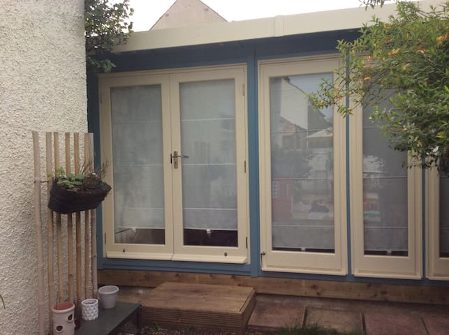 Garden room haven with private access