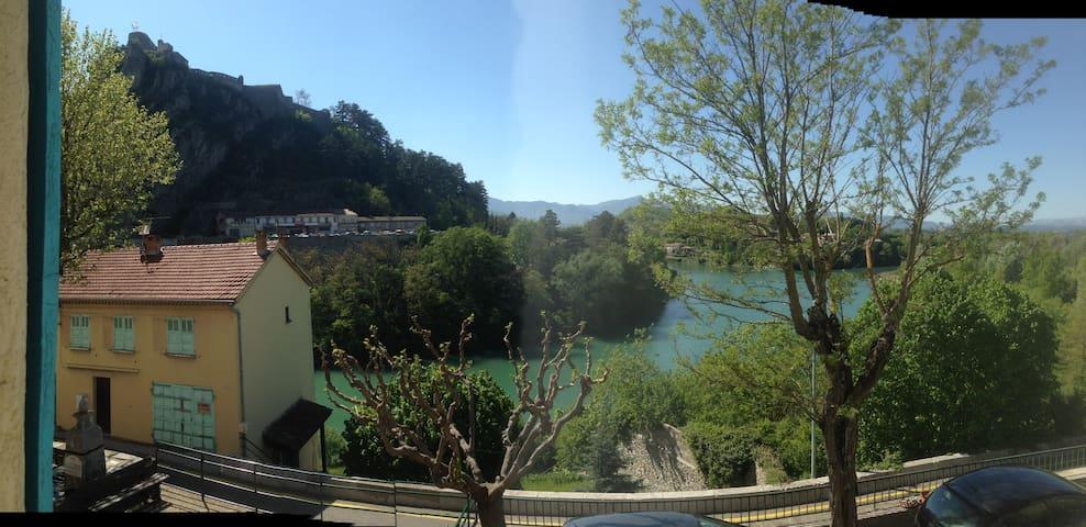 petit duplex à Sisteron - Sisteron - Townhouse