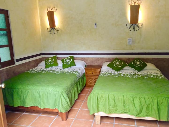 Confortable habitación climatizada ¨Tierra¨