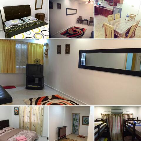 Jebat Holiday Home - Alor Gajah - Casa