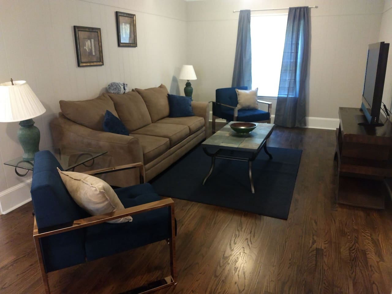 Den, fully furnished with TV!