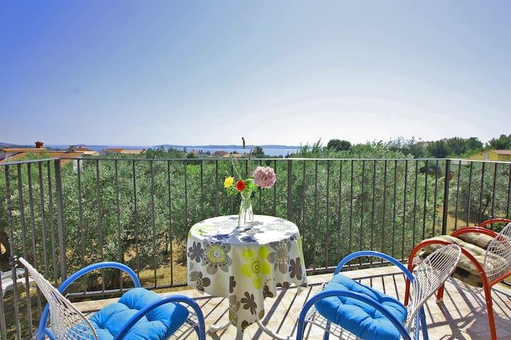 Amazing sea view overlooking Brijuni islands - Fažana - Apartment