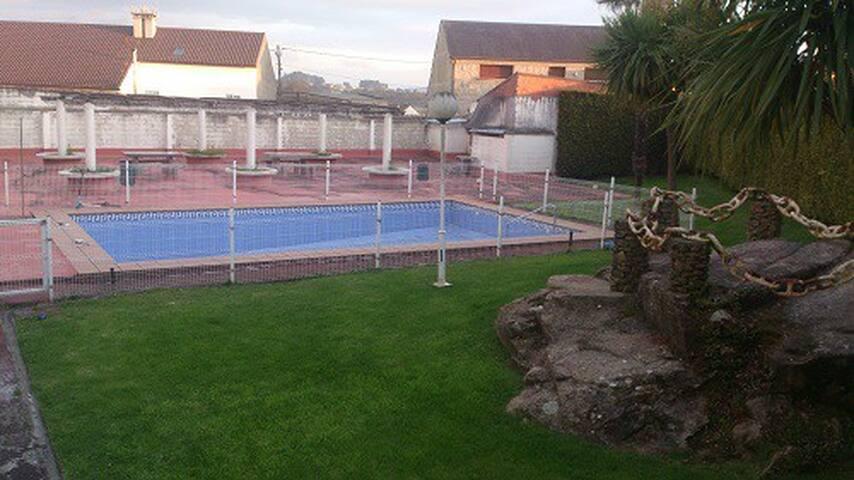 duplex con piscina - Cambados - Apartamento