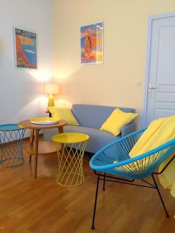 Appartement de charme, au bord de mer, Cap Corse