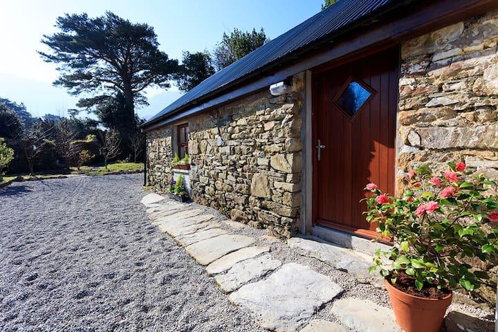 Front door to the barn.