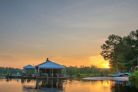 Private 70 Acre Lake, sleeps 31