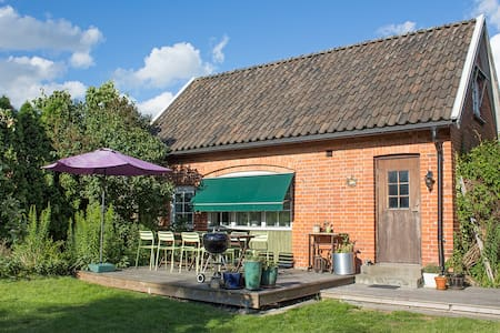 2-room cosy small cottage just outside Lund. - Södra Sandby - Dom