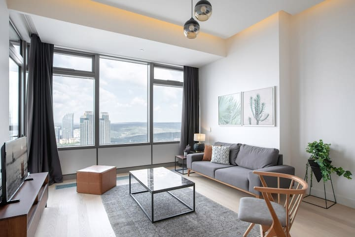 Splendid 1BR at 42 Maslak with Pool & City View