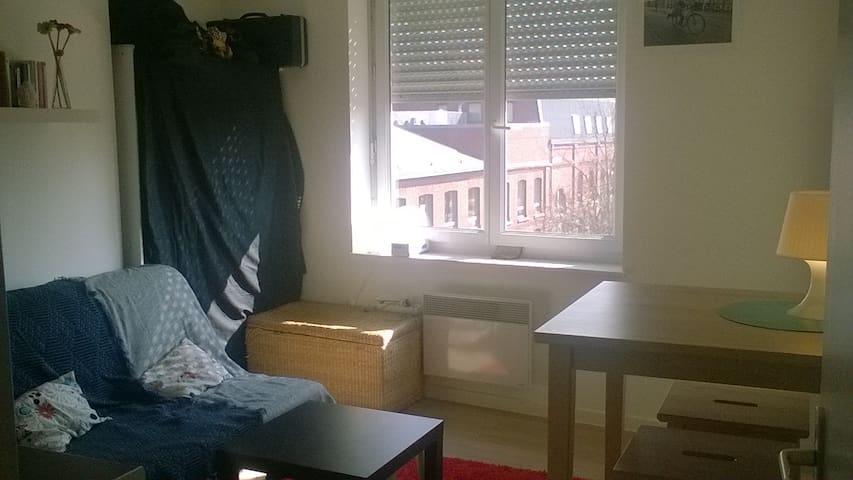 Petit F2 Lumineux - Lille - Apartment