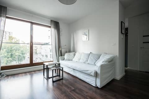 Modern apartment, near Old Town and Vistula River