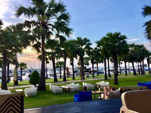 Beach Front condo at Ocean Marina Yacht Club