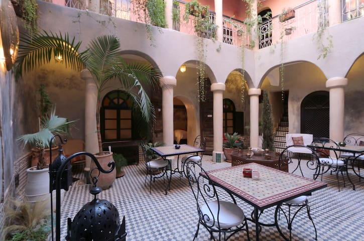 A Garden Riad in Marrakech's Medina wifi / 傳統利亞德