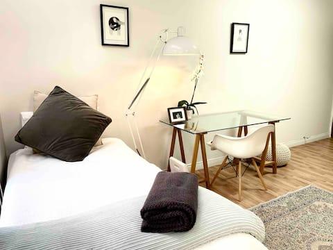Modern private suite, in Menlo Security Village