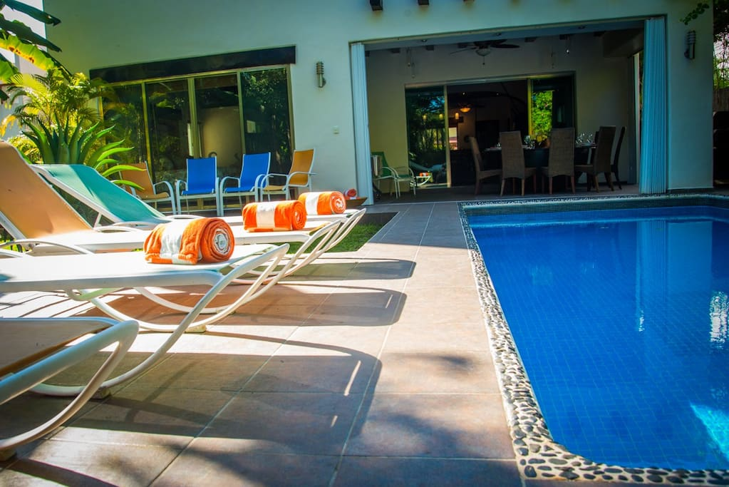 Relax at your pool