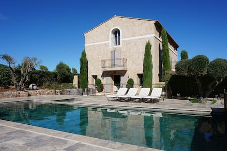 MAGNIFICENT VILLA PROVENCE (sleeps 10-12 people)