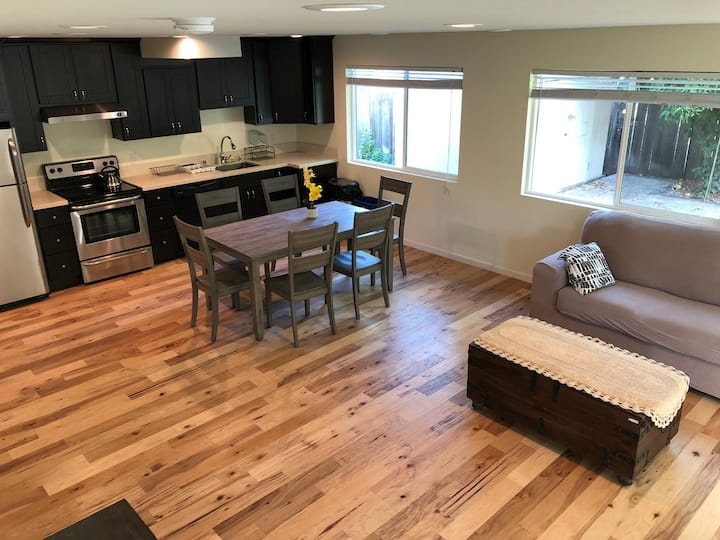 Gorgeous unit with paved yard!