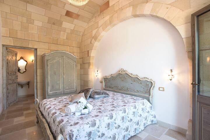 Castello Salentino / Camera Argento Antico Matrim.