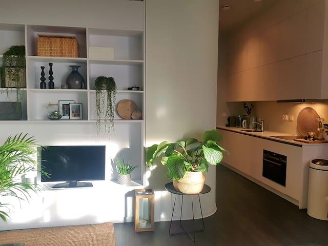 Luxe studio bij <1 km centrum/Jaarbeurs/C Station