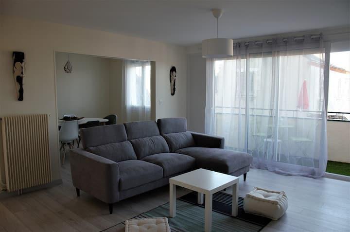 Appartement 3 ch au calme dans résidence sécurisée