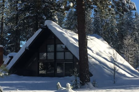 Authentic McCall Cabin Adjacent to Ponderosa Park - McCall - Hus