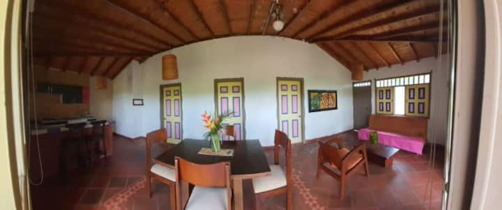 Beautiful Cabin in Quimbaya with excelent view an nature neighborhood