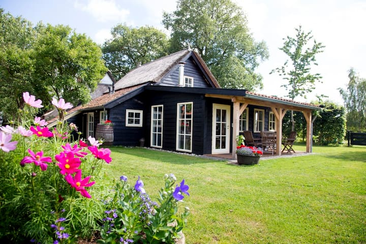 Cottage with a lot off privacy