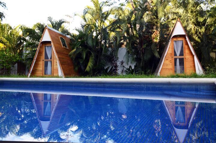 Tepee privado en espacio de Yoga - Jardín Ganesha