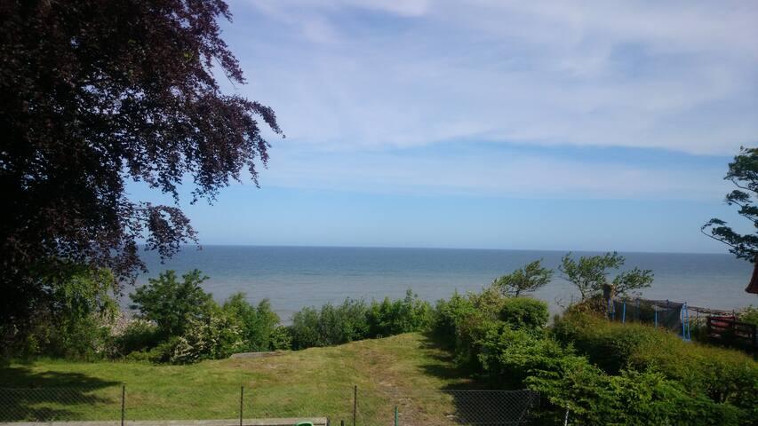 mieszkanie nocleg z widokiem na morze i plaże - Jarosławiec - Gästhus