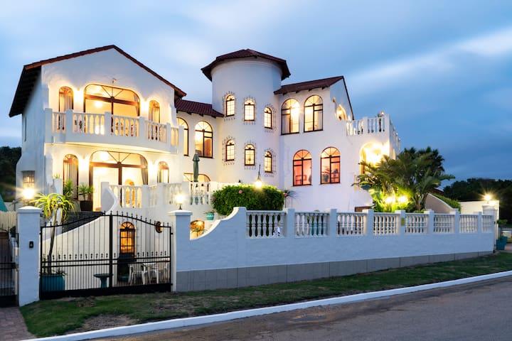 Carley Beach House with a superb ocean view.