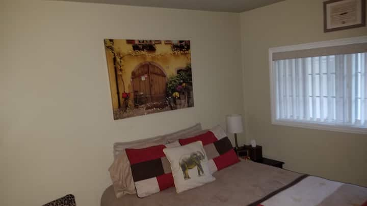 Lovely room in a home away from home