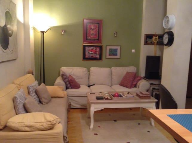 Apartment - 80 sq m. 2min from the beach & marina