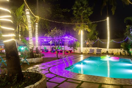 5 BHK Party Villa with private Pool in Goa