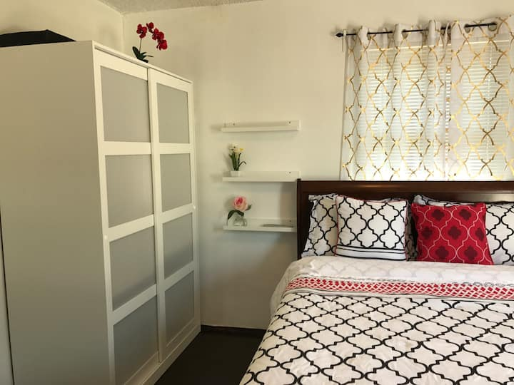 ( Room #1) Cozy master nook with private entrance