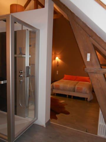 """Chambre privée """" Bocage """" - La Cambe - Bed & Breakfast"""