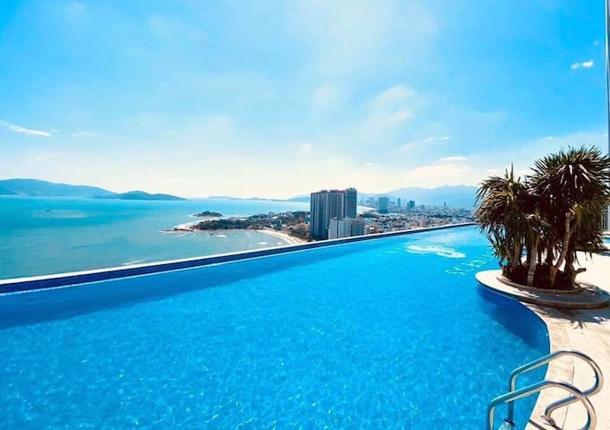 ☀BEACH FRONT☀SUNNY SEA VIEW STUDIO ☀INFINITY POOL☀