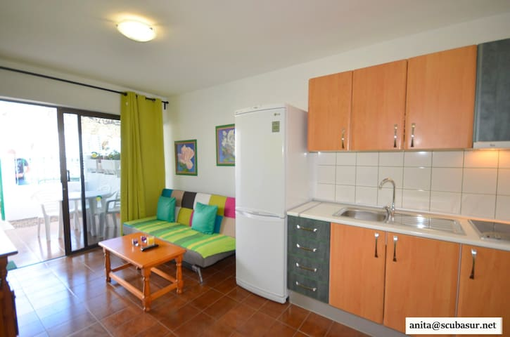 Nice and quit 2/3 person apartment - Mogán