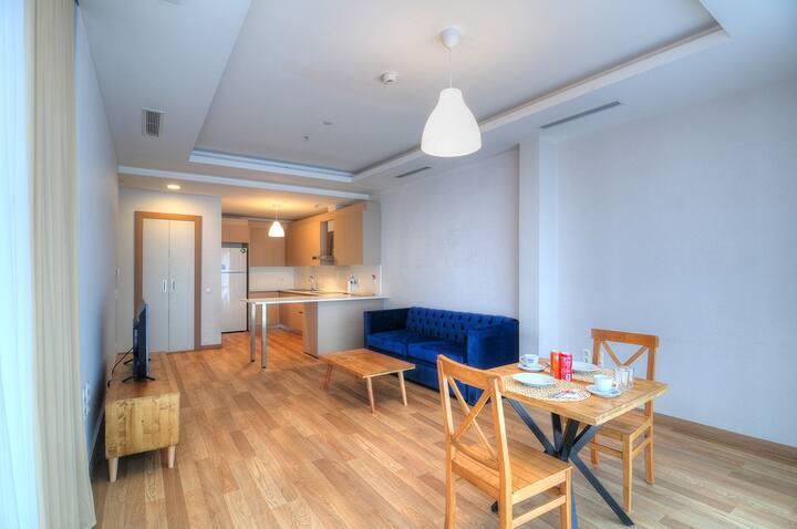 Premium, luxury apartment, 1 bedroom,24/7 security