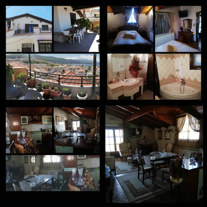 Penthouse with unlimited view to Samos