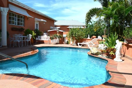 Peace Tranquility Lovely Gardens Salt Water Pool - Westmoreland