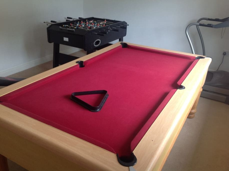 Games Room available to Guests